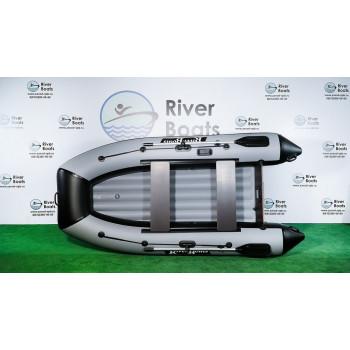 Надувная ПВХ лодка RiverBoats RB-340 НДНД