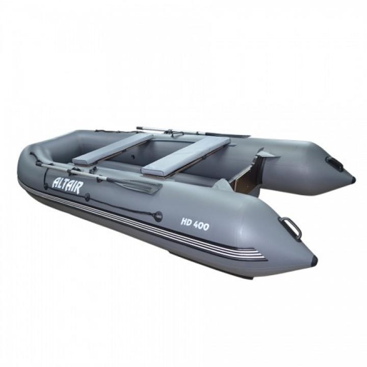Надувная ПВХ лодка Altair HD-400 ФБ