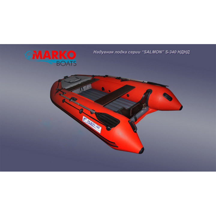 Лодка SALMON S-350 НДНД