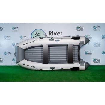 Надувная ПВХ лодка RiverBoats RB-350 НДНД