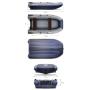 Надувная ПВХ лодка ФЛАГМАН DK 420