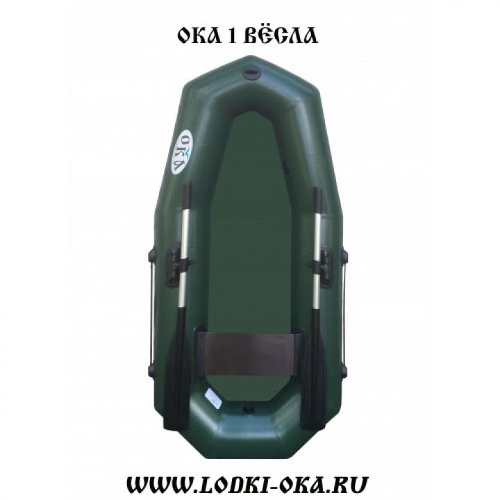 Гребная лодка Ока 1 весла
