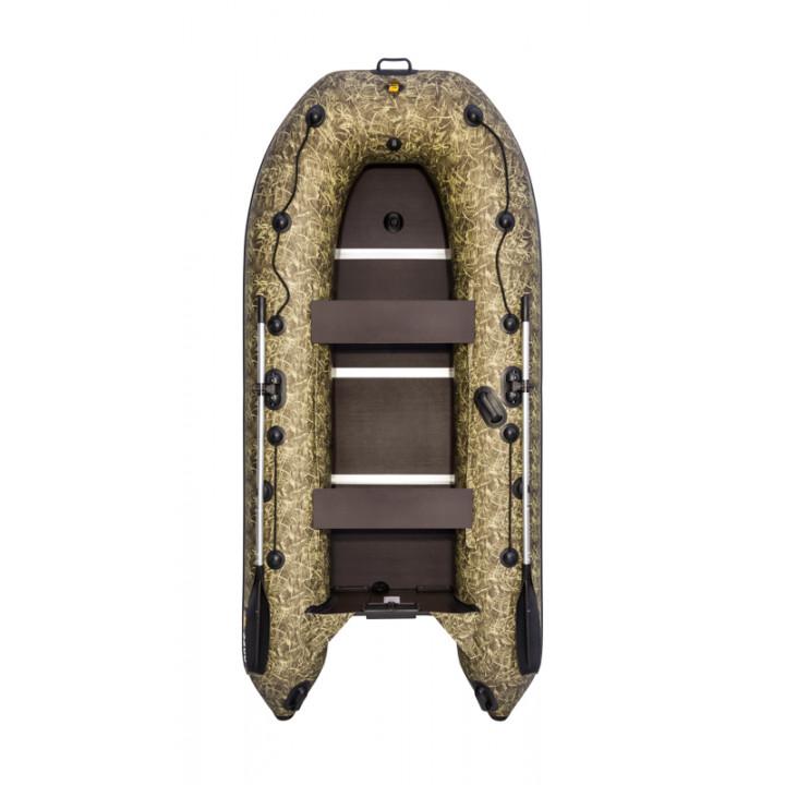 Надувная ПВХ лодка Ривьера компакт 3200 СК Камуфляж