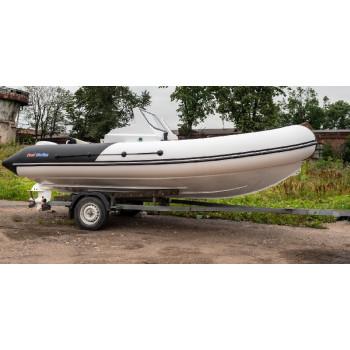 Лодка ProfMarine PM 550.2 RIB с алюминиевым корпусом Двухконсольный