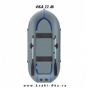 Гребная лодка Ока 22 М