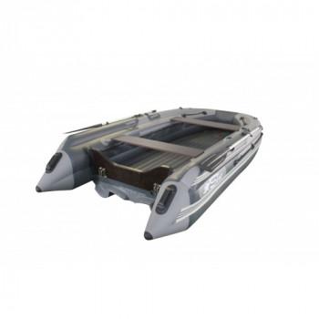 Лодка SKAT-Тритон-390 с Интегрированным фальшбортом и Пластиковым транцем