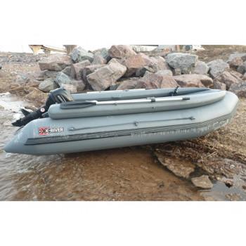 Надувная ПВХ лодка X-River ROCKY 395 FB