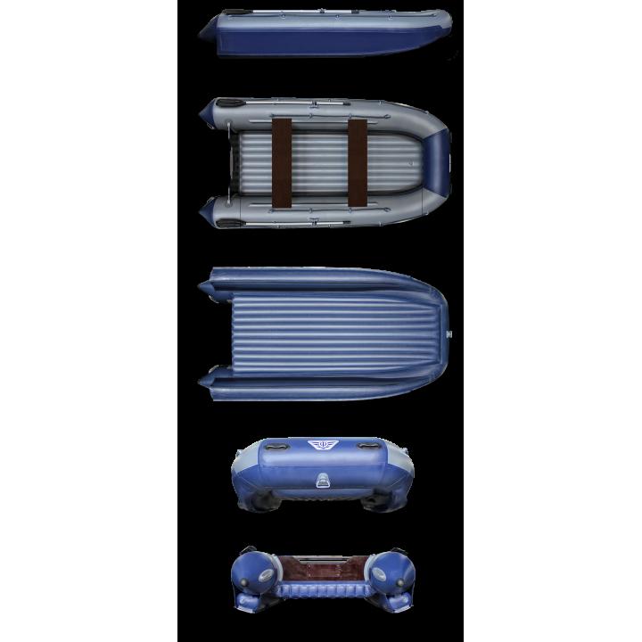 Надувная ПВХ лодка ФЛАГМАН 460 K