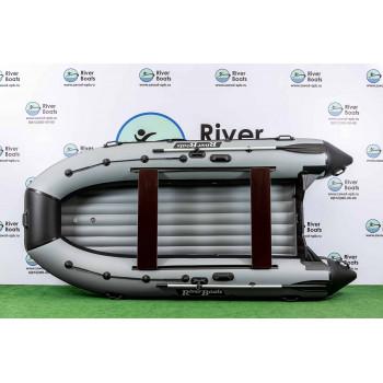 Надувная ПВХ лодка RiverBoats RB-410 НДНД