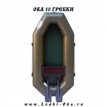 Гребная лодка Ока 10 гребки