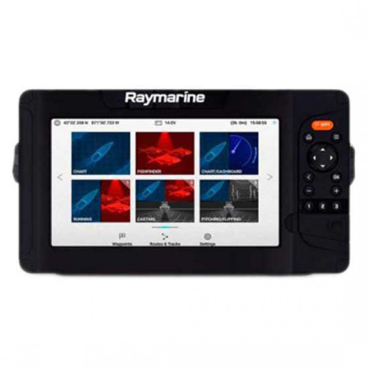 "Эхолот Raymarine Element 9 S - 9"" Chart Plotter with Wi-Fi & GPS, No Chart & No Transducer"