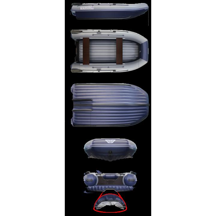 Надувная ПВХ лодка ФЛАГМАН DK 450 Jet