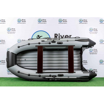 Надувная ПВХ лодка RiverBoats RB-430 НДНД