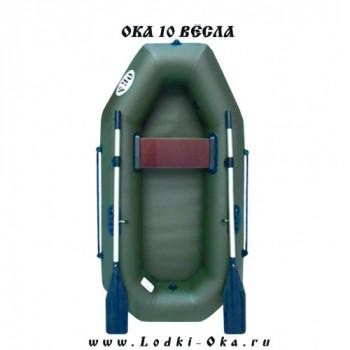 Гребная лодка Ока 10 весла