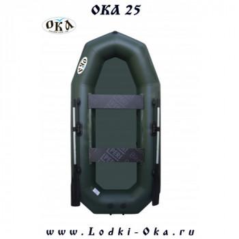 Гребная лодка Ока 25