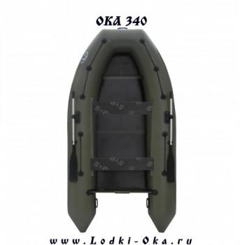 Моторная лодка Ока 340