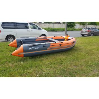 Надувная ПВХ лодка REEF SKAT 400