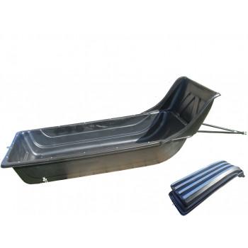 Сани-волокуши 1450 с отбойником LUX и накладками